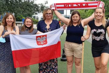 rodzice polscy ze stowarzyszenia APESP