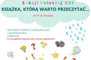 plakat konkurs czytelniczy szkola miedzynarodowa
